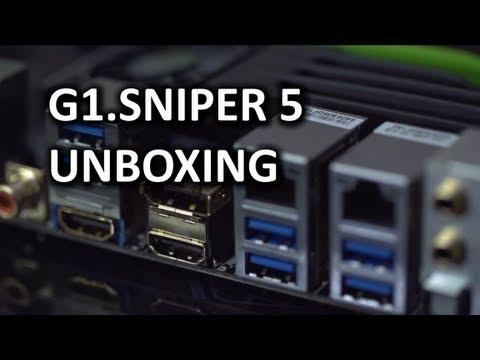 Gigabyte G1. Keskin Nişancı 5 Anakart Unboxing Ve Genel Bakış