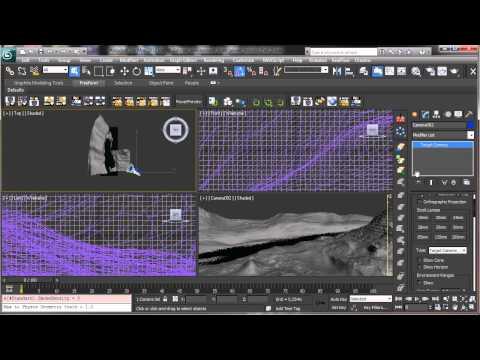 Yabancı Gezegenin Çevre - Bölüm 2 - 3Ds Max Rehberler [720P]