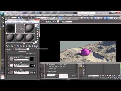 Yabancı Gezegenin Çevre - Bölüm 3 - 3Ds Max Rehberler [720P]