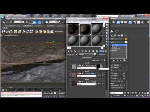 Yabancı Gezegenin Çevre - Bölüm 4 - 3Ds Max Rehberler [720P]