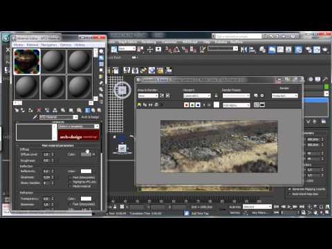 3Ds Max Eğitim - İray Oluşturma Çalışma İle Deplasman