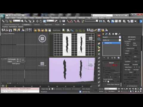 3Ds Max Tutorials, Basit Bir Modelleme [Hd 720 P] Kesmek