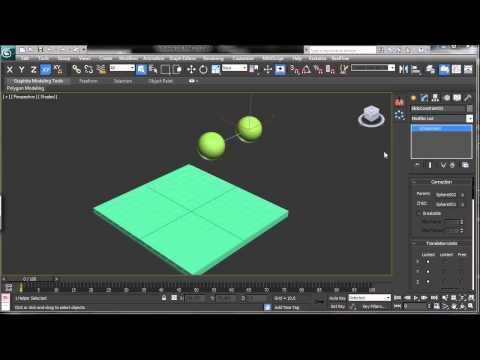 3Ds Max Tutorials, Massfx Kısıtlama Giriş [Hd 720P]