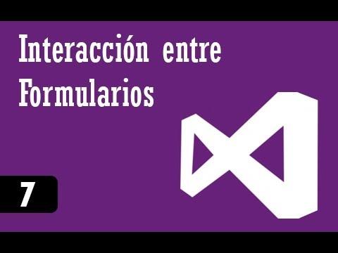C# Intermedio - 7 - Interacción Entre Formularios