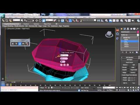 Mücevherlerle İray Malzeme - Part 1 - 3Ds Max Rehberler [720P]