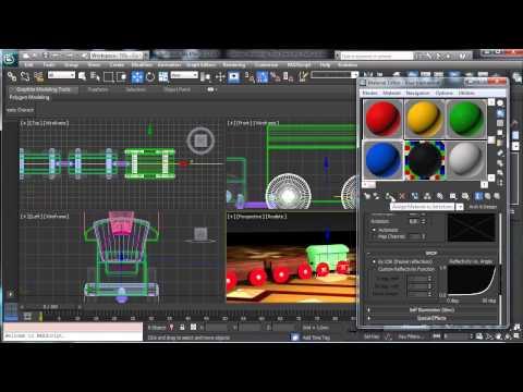 Oluşturma Bir Oyuncak Tren 3D Studio Max - Part2 - 3Ds Max Rehberler [720P]