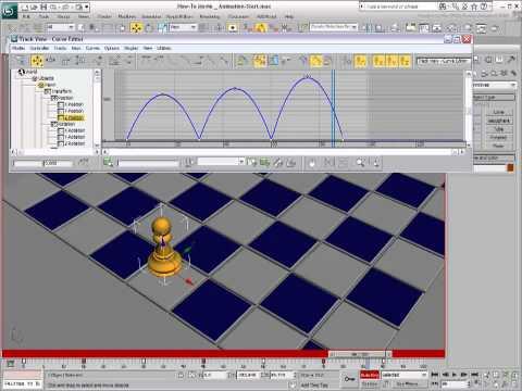 3Ds Max Eğitimi, Basit Keyframing [Hd 720 P] Kullanarak