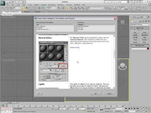 3Ds Max Eğitimi, Özel Kullanıcı Arabirimi Şalter [Hd 720 P] Kullanarak