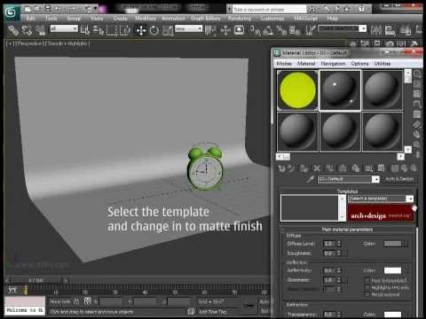3Ds Max Eğitimi, Ürün Render