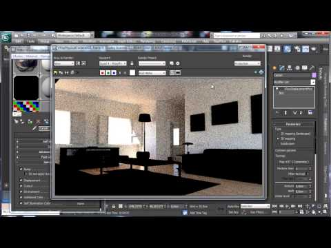 3Ds Max Tutorials, Photoreal İç İray - Part1 İle [Hd 720P]