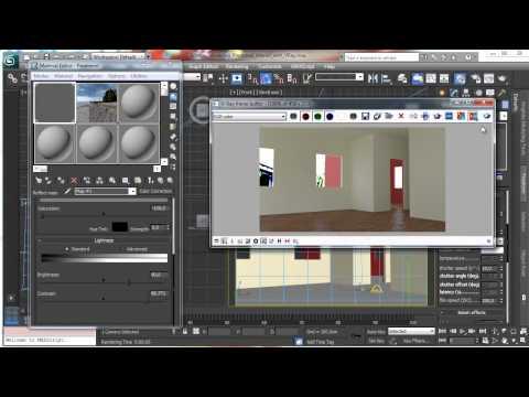 3Ds Max Tutorials, Vray - Part1 Photoreal İç [Hd 720P]