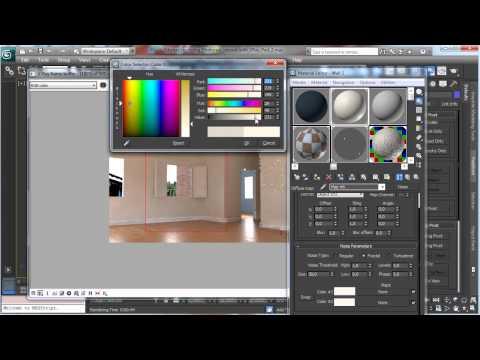 3Ds Max Tutorials, Vray - Part2 Photoreal İç [Hd 720P]