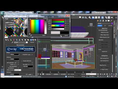 3Ds Max Tutorials, Vray - Part3 Photoreal İç [Hd 720P]