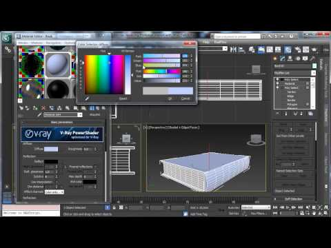 3Ds Max Tutorials, Vray - Part6 Photoreal İç [Hd 720P]