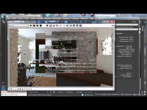 3Ds Max Tutorials, Vray - Part8 Photoreal İç [Hd 720P]