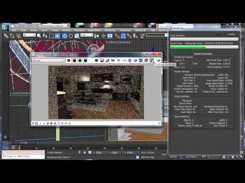 3Ds Max Tutorials, Vray - Part9 Photoreal İç [Hd 720P]