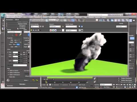 Pyrocluster Giriş - 3Ds Max Rehberler [Hd 720P]