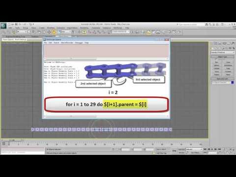 3Ds Max Eğitimi, Birden Çok Bağlantı [Hd 720 P] Otomatikleştirme