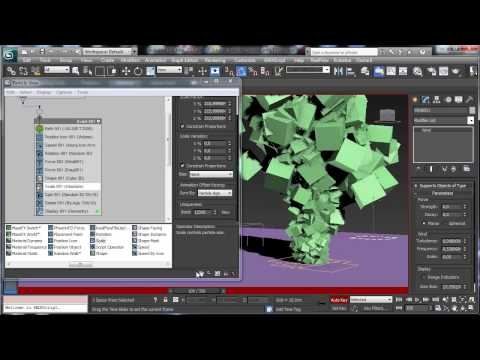 3Ds Max Eğitimi, Duman Pflow İle [Hd 720P]