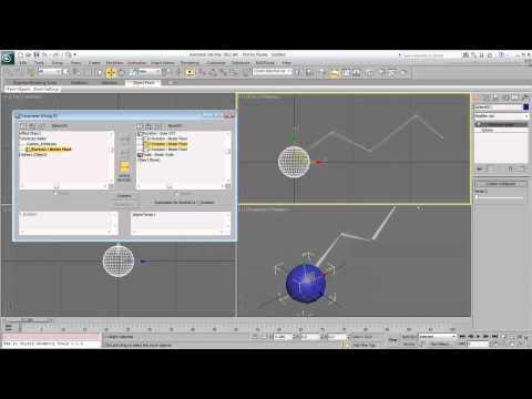 3Ds Max Eğitimi, Özel Öznitelikleri Kullanarak Ve Kablolama - Bölüm 2 [Hd 720P]