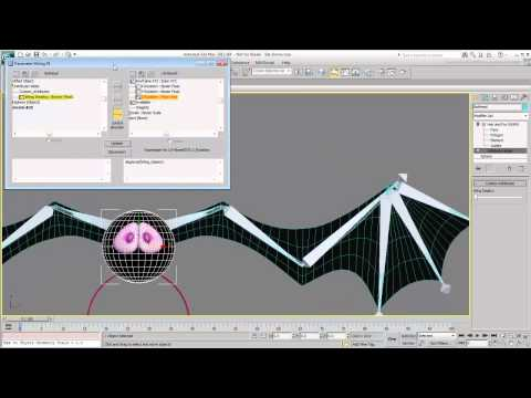 3Ds Max Eğitimi, Özel Öznitelikleri Kullanarak Ve Kablolama - Bölüm 3 [Hd 720P]