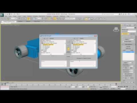 3Ds Max Eğitimi, Tank Hareketlendirme İzleri - Bölüm 1 [Hd 720P]