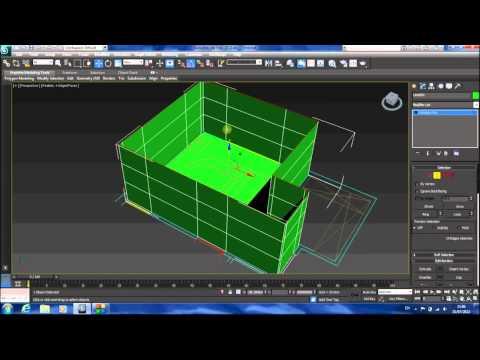 3Ds Max Eğitimi, Modelleme Oda