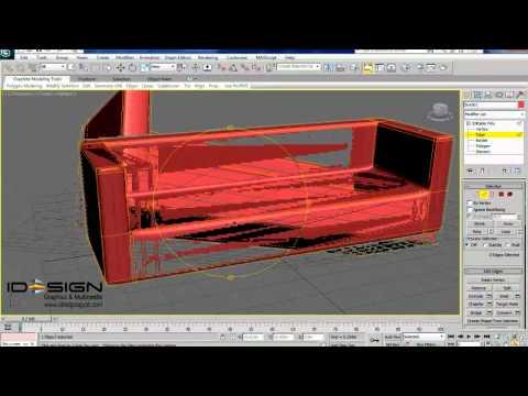 3Ds Max Eğitimi, Modern Kanepe Yapma