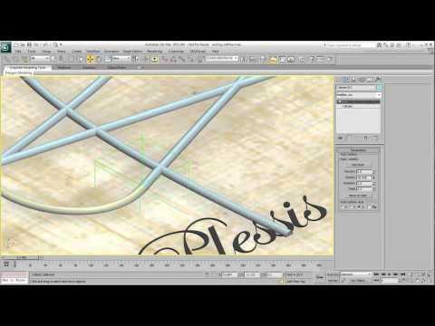 3Ds Max Eğitimi, Metin - Metin Kendi Kendine Yazma - Bölüm 3 [Hd 720 P] Hareketlendirme