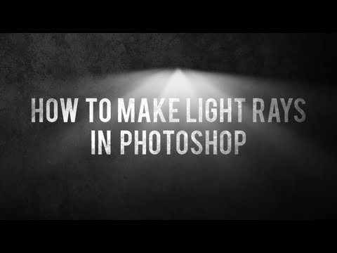 Nasıl Photoshop [Hd] Işık Işınları Yapmak