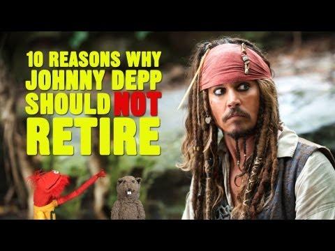 10 Neden Neden Johnny Depp Emekli