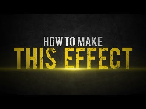 Nasıl Photoshop [Hd] Korku Veren Metin Efekti (Turuncu-Beyaz) Yapmak
