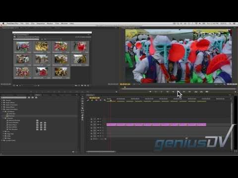 Otomatik Slayt Gösterisi Olarak Adobe Premiere Cc