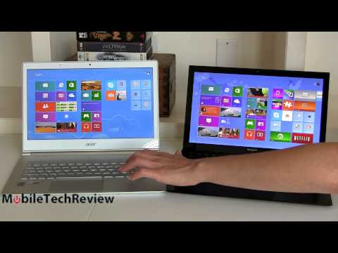 "Acer Aspire S7 Vs. Sony Vaıo Pro 13 13 3"" Haswell Ultrabook Karşılaştırma Smackdown"