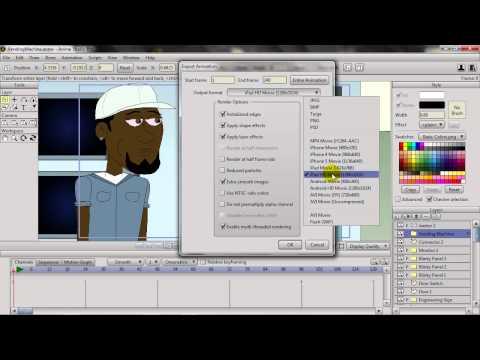 Anime Studio 9.5 Öğretici: Daha Kolay Alma Ve Windows Kullanıcıları İçin Verme