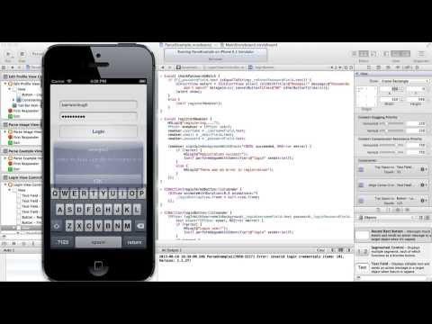 Oturum Açma Ve Kapatmanın Bir Kullanıcı Ios App