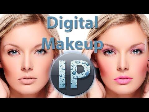 Adobe Photoshop Elements 11, 10 Dijital Makyaj Photoshop Elemanları Eğitimi
