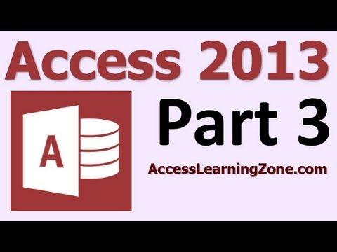 Microsoft Access 2013 Eğitim Düzey 1 Bölüm 03 12 - Erişim Arabirimi