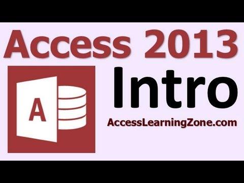 Microsoft Access 2013 Eğitim Seviyesi 1 Bölümü 00 12 - Giriş
