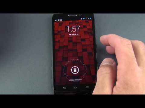 Motorola Droid Ultra: Unboxing Ve Gözden Geçirin