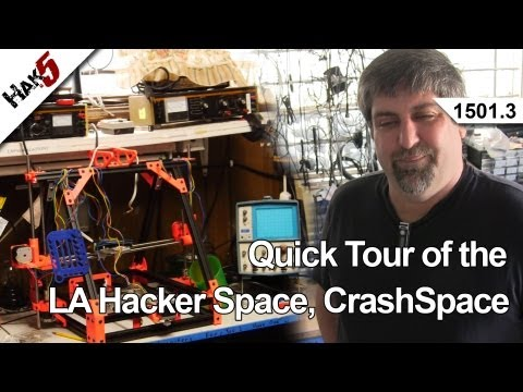 La Hacker Alanı, Crashspace, Hak5 Hızlı Tur 1501.3