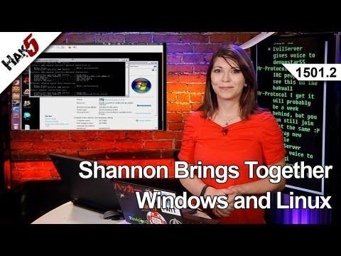 Shannon Getiriyor Birlikte Windows Ve Linux, Hak5 1501.2