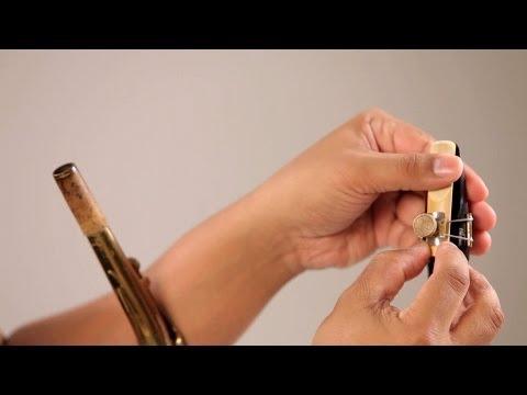 Saksafon Reed Yerleşim | Saksofon Dersleri