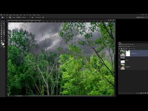 Photoshop - Ne Zaman Saçak Kaldır Gökyüzü Değiştirme