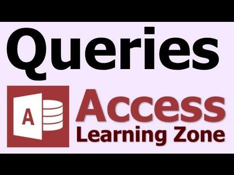 Microsoft Access Sorgusu Nedir?