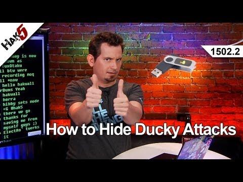 Ducky Gizlemek İçin Saldırıları Nasıl Hak5 1502.2