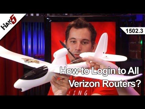 Tüm Verizon Yönlendiriciler Giriş Nasıl?, Hak5 1502.3