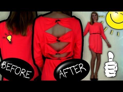 Dıy: Moda! Nasıl Yenilemek, Eski Elbise Geri Dönüşüm İçin!