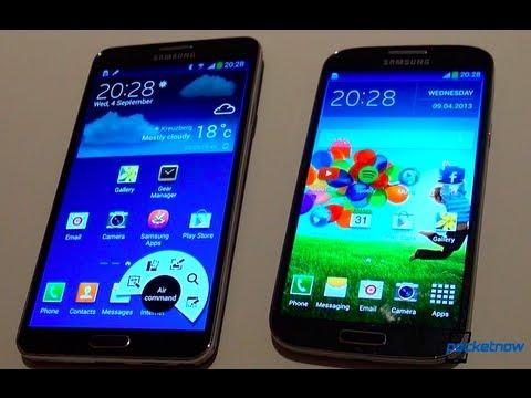 Galaxy Not 3 Vs Galaxy S 4 (Ifa 2013 Uygulamalı)