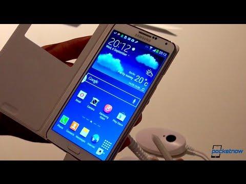 Samsung Galaxy Not 3: Ifa 2013, Uygulamalı